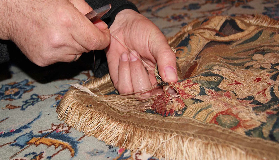 Our Rug Repair Technicians Expertise Has Provided Bagdad Oriental Rugs With An Unequaled Restoration Service In Texas The Wide Variety Of Repairs And