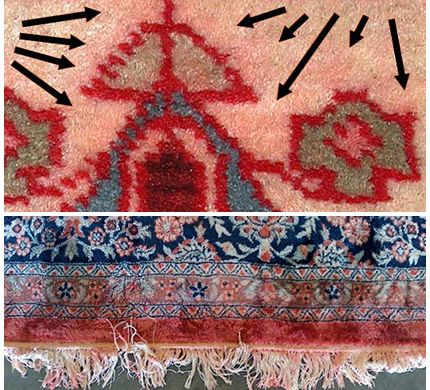rug color restoration